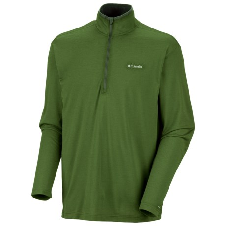 Columbia Sportswear Mountain Tech Shirt - UPF 15, Zip Neck, Long Sleeve (For Men)