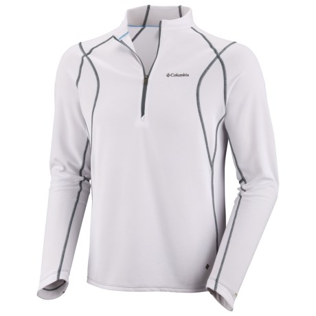 Columbia Sportswear Insect Blocker® Sporty Shirt - UPF 50, Zip Neck, Long Sleeve (For Men)