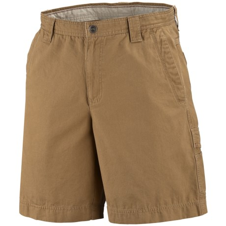 Columbia Sportswear Ultimate Roc Shorts - Sandwashed Canvas, UPF 50 (For Big Men)