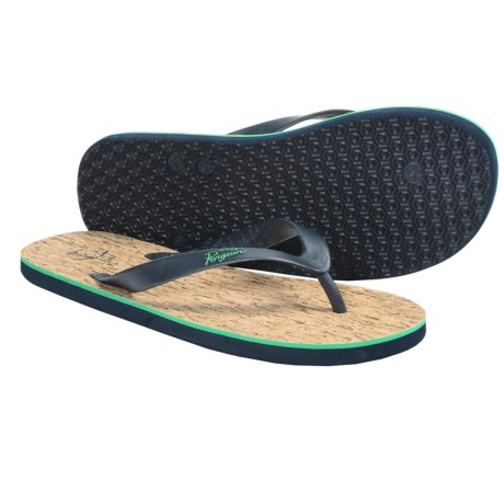 Penguin Footwear Cork Sandals - Flip-Flops (For Men)