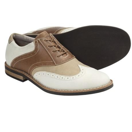Penguin Footwear Willie Saddle Shoes - Leather (For Men)