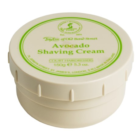 Taylor of Old Bond Street Avocado Shaving Cream Bowl - 150g
