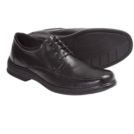Clarks Euclid 4 Eye Shoes - Leather, Oxfords (For Men)