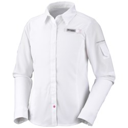 Columbia Sportswear Tamiami Shirt - UPF 40, Long Sleeve (For Youth Girls)