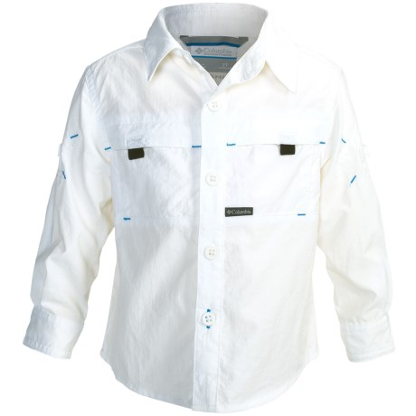 Columbia Sportswear Silver Ridge Mini-Rip Shirt - UPF 30, Long Roll-Up Sleeve (For Toddler Boys)