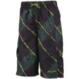 Columbia Sportswear Wake N Wave Boardshorts - UPF 30 (For Little Boys)