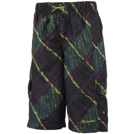 Columbia Sportswear Wake N Wave Boardshorts - UPF 30 (For Little Boys)