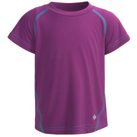Columbia Sportswear Silver Ridge T-Shirt - UPF 30, Short Sleeve (For Little Girls)