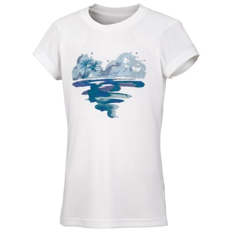 Columbia Sportswear Farewell City T-Shirt - UPF 30, Short Sleeve (For Toddler Girls)