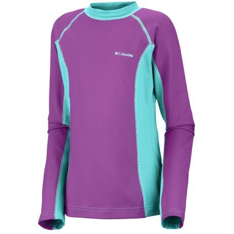 Columbia Sportswear Sun's Up Sunguard - UPF 50, Long Sleeve (For Youth Girls)