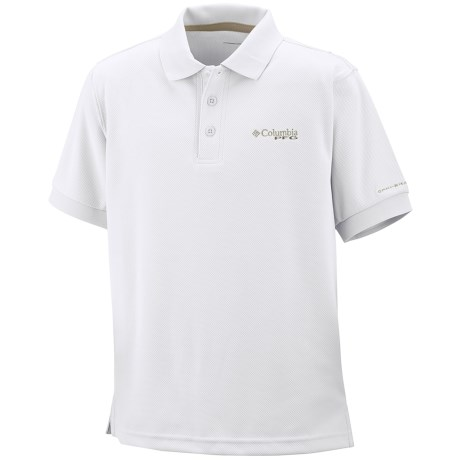 Columbia Sportswear PFG Perfect Cast Polo Shirt - UPF 30, Short Sleeve (For Little Boys)