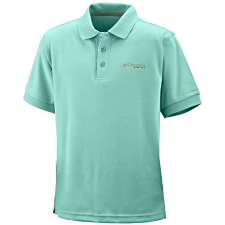 Columbia Sportswear PFG Perfect Cast Polo Shirt - UPF 30, Short Sleeve (For Boys)