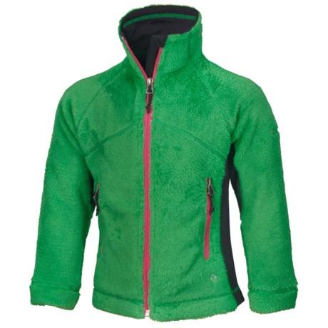 Columbia Sportswear Pearl Plush Fleece Jacket - Full Zip (For Girls)