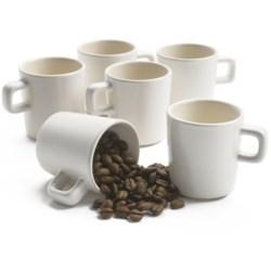 Sagaform Colombia Espresso Mugs - Set of 6