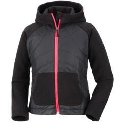 Columbia Sportswear Fast Trek Hybrid Jacket - Insulated, Fleece (For Girls)