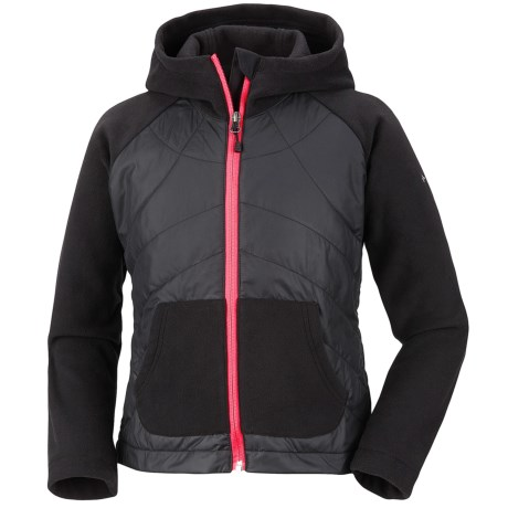 Columbia Sportswear Fast Trek Hybrid Jacket - Insulated, Fleece (For Girls)
