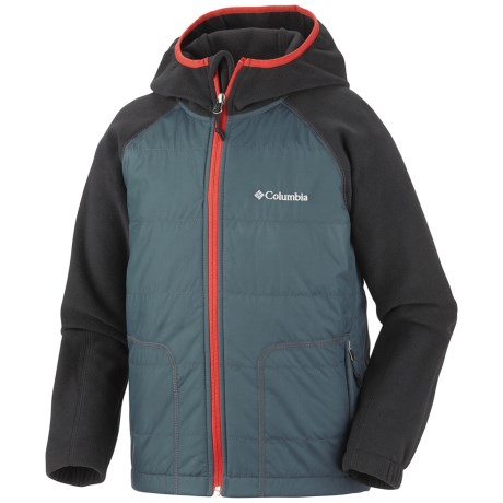 Columbia Sportswear Fast Trek Hybrid Jacket - Insulated, Fleece (For Boys)
