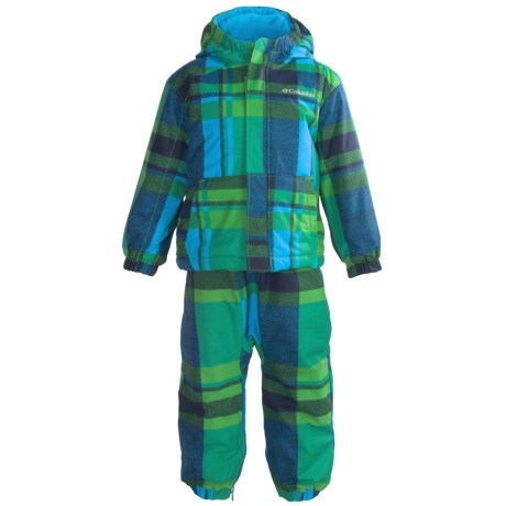 Columbia Sportswear First Snow Jacket and Bib Set (For Toddlers)