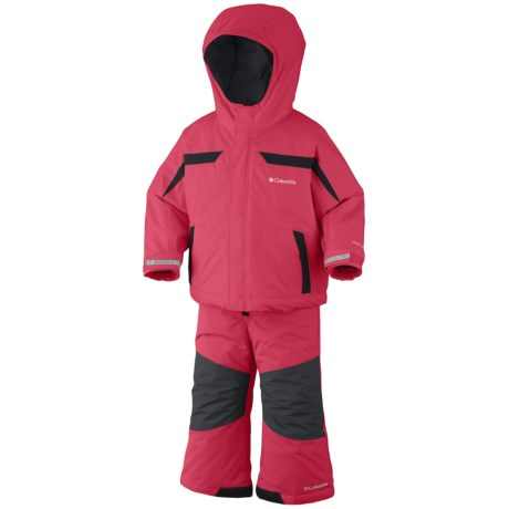 Columbia Sportswear Snow Powder Jacket and Bib Set (For Toddlers)