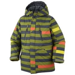 Columbia Sportswear Ice Slope Long Jacket (For Boys)