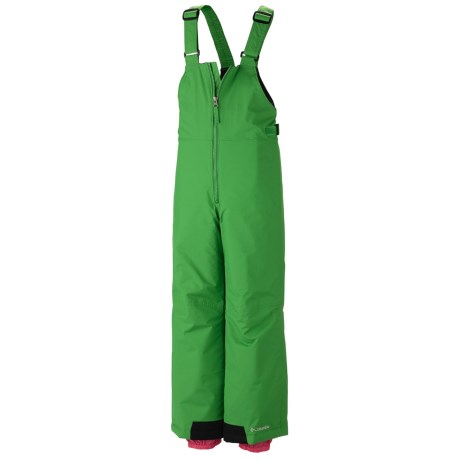 Columbia Sportswear Snow Slope Bib Overalls - Insulated (For Girls)