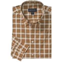 Scott Barber Spring James Sport Shirt - Cotton Plaid, Long Sleeve (For Men)
