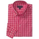 Scott Barber Spring James Check Sport Shirt - Cotton, Long Sleeve (For Men)