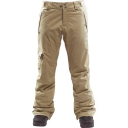 Foursquare Strut Waxed Canvas Snowboard Pants - Waterproof, Insulated (For Men)