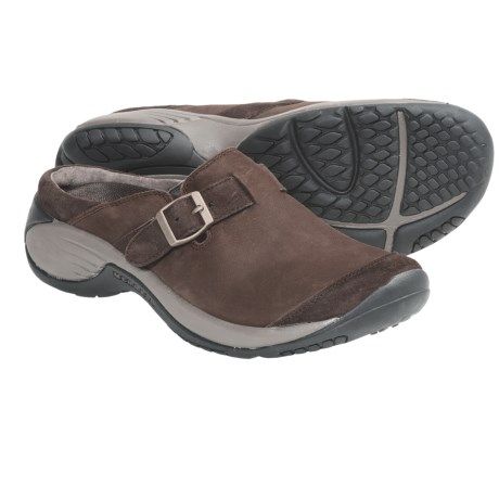 Merrell Encore Buckle Shoes - Leather, Slip-Ons (For Women)