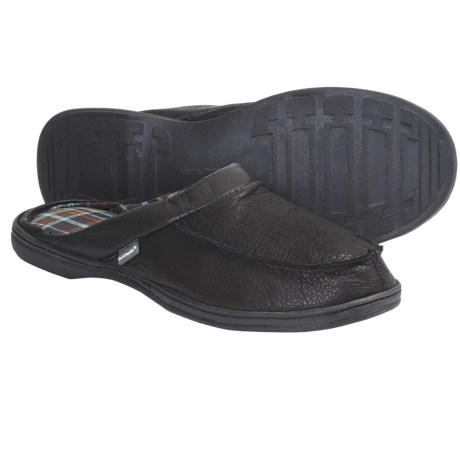 Hush Puppies Clyde Slippers - Leather, Slip-Ons (For Men)