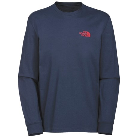 The North Face Red Box T-Shirt - Long Sleeve (For Men)