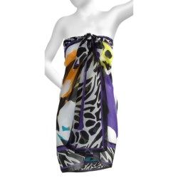 Miraclesuit Go Boldly Block Island Scarf Pareo Wrap (For Women)