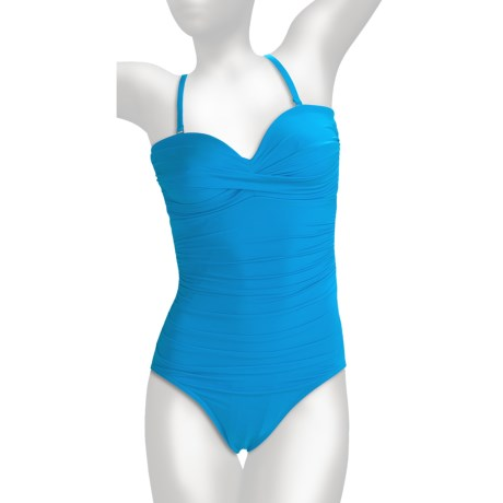Miraclesuit Must Haves Barcelona Swimsuit - 1-Piece, Removable Straps (For Women)