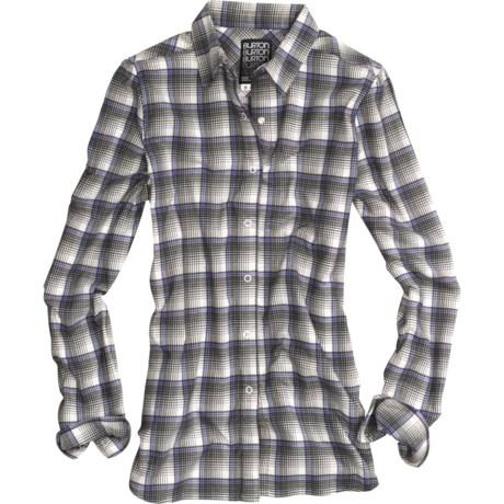 Burton Blitz Flannel Shirt - Snap Front, Long Sleeve (For Women)