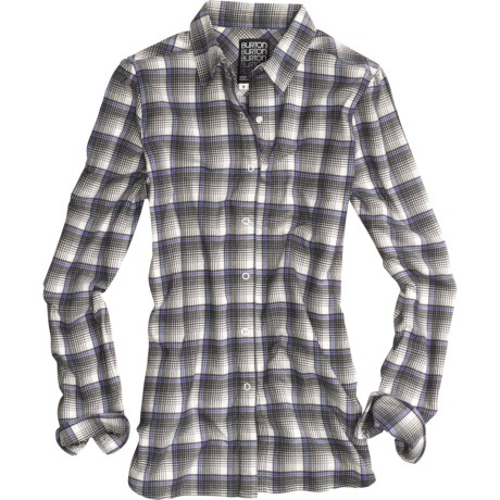 Burton Blitz Flannel Shirt - Snap Front, Long Sleeve (For Women)
