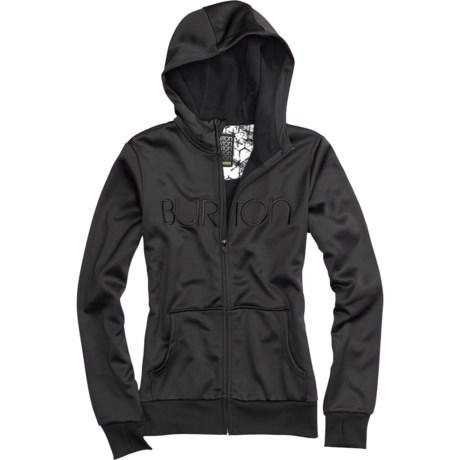 Burton Scoop Hoodie Sweatshirt - Full Zip (For Women)