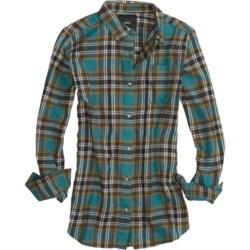 Burton Driver Flannel Shirt - Long Sleeve (For Women)