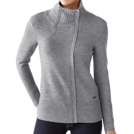 SmartWool Daly Creek Sweater - Merino Wool, Full Zip, Long Sleeve (For Women)