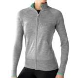 SmartWool SportKnit Sweater - Merino Wool, Full Zip (For Women)