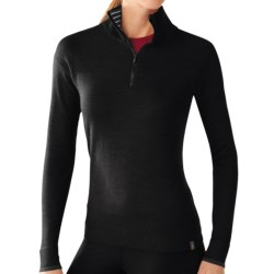 SmartWool Sportknit Shirt - Merino Wool, Zip Neck, Long Sleeve (For Women)