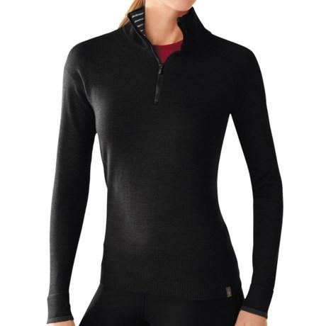 SmartWool Sportknit Shirt - Merino Wool, Zip Neck, Long Sleeve (For Women)