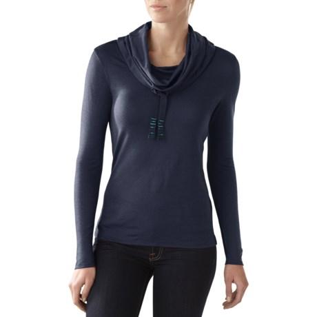 SmartWool Cowl Neck Shirt - Merino Wool, Long Sleeve (For Women)