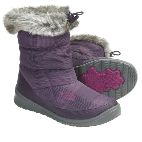 The North Face Nuptse Bootie Faux-Fur IV Winter Boots - Insulated (For Women)