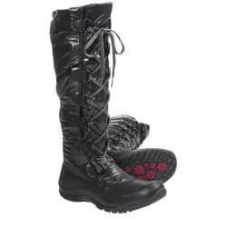 The North Face Anna Purna Tall Lace Winter Boots - Waterproof, Insulated (For Women)