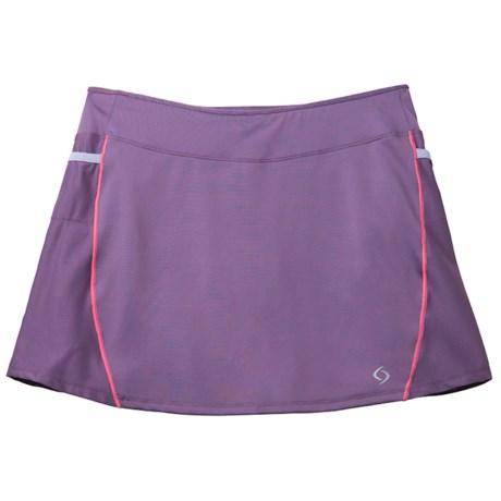 Moving Comfort Momentum Running Skort - Built-In Shorts (For Women)