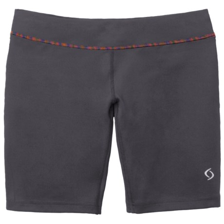 """Moving Comfort 7.5"""" Compression Shorts (For Women)"""
