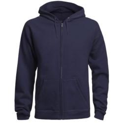 Hanes 8 oz. Fleece Hoodie Sweatshirt - Full Zip (For Men and Women)