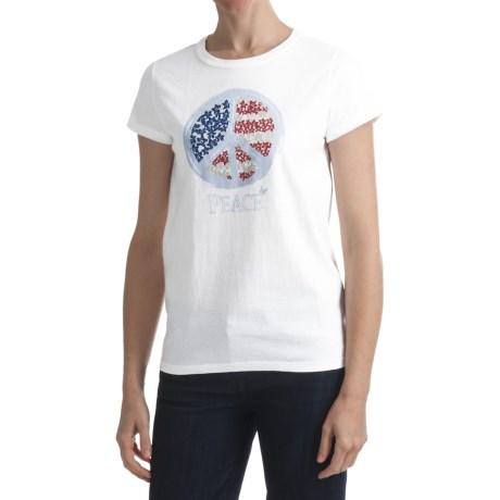 Hanes Printed T-Shirt - Short Sleeve (For Women)