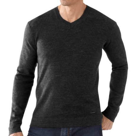 SmartWool Capitol Peak Sweater - V-Neck (For Men)