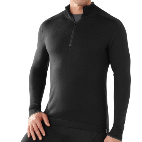 SmartWool Sportknit Sweater - Zip Neck (For Men)